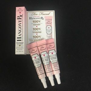 3/$30 Too Faced Hangover RX Replenishing Primer